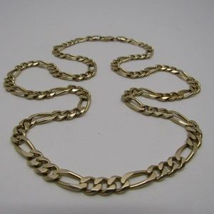 Other - 14k Gold Italy Figaro Necklace